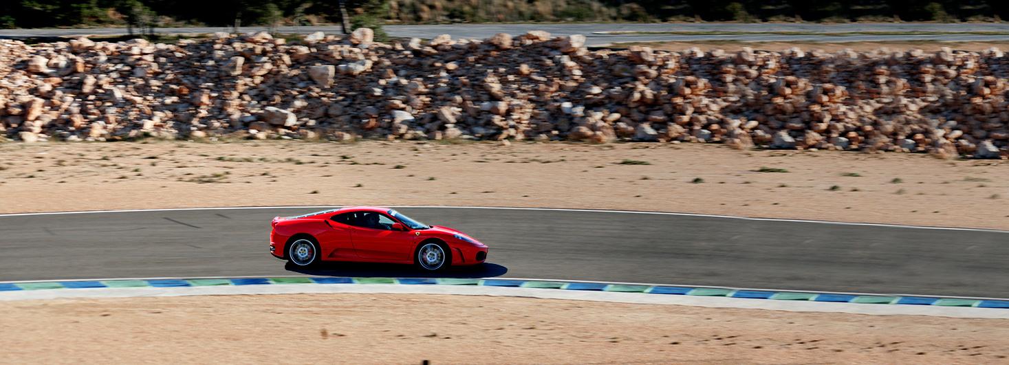 Conducir un Ferrari F430 F1 en el Circuit de Calafat con Formula GT