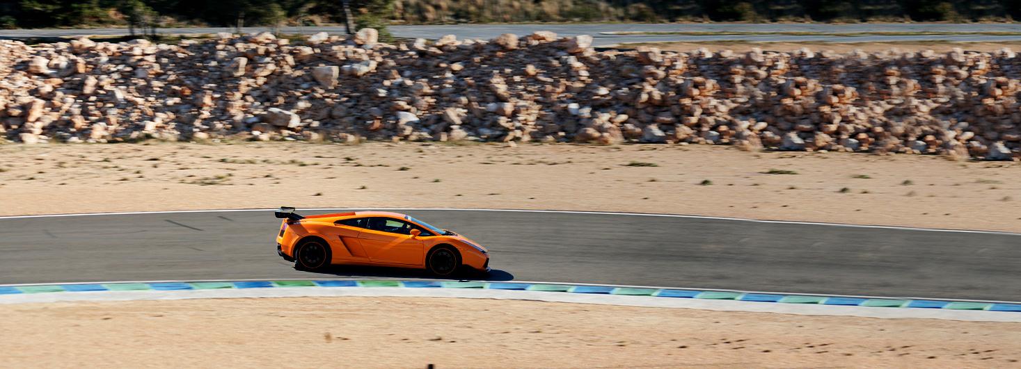 Conducir un Lamborghini Gallardo en el Circuit Calafat