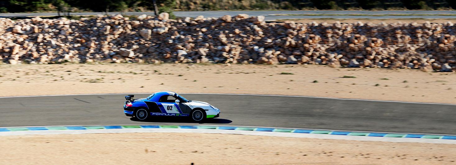 Conducir un Porsche Boxster Cup en el Circuit Calafat